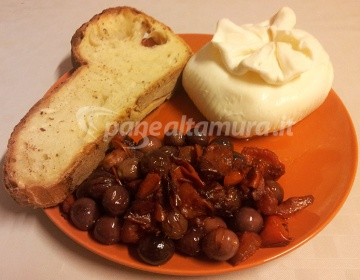 Ricetta olive fritte e burrata altamurana